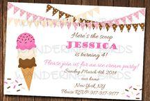 Ice cream party / by Un jour de moins Designs