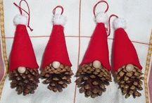 Jul i natur materialer