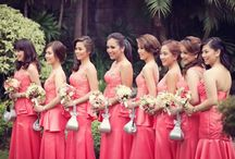 Bridesmaids Dresses & Gowns / Find the perfect bridesmaid dress for your friends.