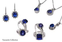 Tanzanite Collection / Treasure it forever! Selected collection of Tanzanites on beautiful styles with exquisite color only from DeHago