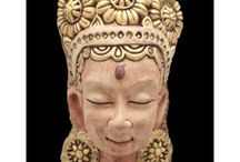 Indian Traditional Sculpture / Decorate your home with these handcrafted sculpture in stoneware, ceramics, fibre, glass and stone available on www.artbugs.in
