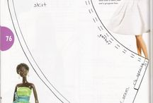 fashion dolls dress pattern