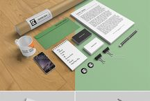Stationery or Branding Mockups