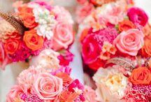 pink orange flowerbox