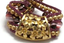 Purple Jewelry / Handmade Jewelry in Purple / by Marla Bee Designs