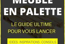 meuble palettes
