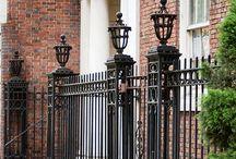 Fence iron