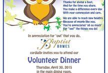 Volunteer & Staff Appreciation Ideas