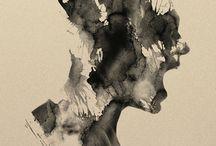 Peinture/encre
