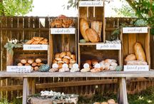 Farm to Table Wedding Inspiration / Mixing your backyard and a farm for your Wedding Day! Let me do the work of finding the latest trends for your unique wedding experience!