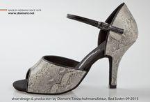 Tango & Salsa Tanzschuhe / Die neue Diamant Tango & Salsa Kollektion