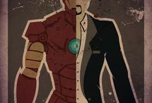 Iron Man  / Best Superhero ever.