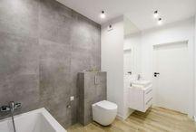 łazienka morelowa