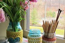 mason jar crafts / by Jean Thomson