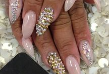 Nailsss  / Fashionable and bling nailss♡♥♡