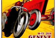 Automotive & Motorcycle Posters / by Gerry Rochman