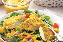 Hearty Salads / These salads are clean and green and make for a satisfying meal.