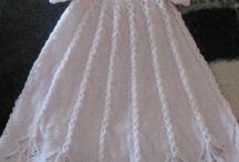 Knitting jurkje baby/kindje dress free pattern