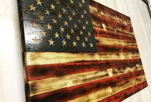 banderas envegecidas