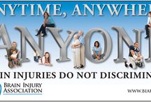 ANYTIME, ANYWHERE, ANYONE / Brain Injury does not discriminate. Find out more @ www.BIAV.net