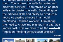 Beyond brick and mortar construction