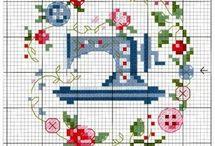 Sewing machine x stitch