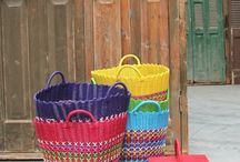 Kleurrijk / Kleurrijke accessoires, ook leuk voor in de kinderkamer.