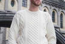 Luxury Aran Sweaters / More Aran sweaters from Arans of Ireland