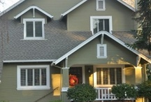 Exterior house paint and decor / by Vicki Ericson