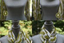 Sjaal dragen / Hoe draag je sjaals