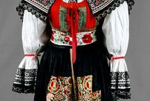 Czech folk costumes