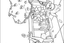 Barbie coloring book / Barbie coloring pages