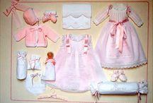 minyatür bebek giysi