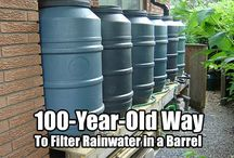 water filtering