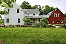 Farm Homes & Houses / by Kathleen Cusick Shea