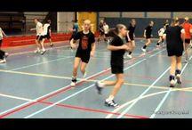 échauffement handball
