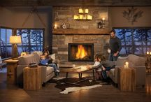 Rustic / Rustic designs are about the scaling of raw materials to be larger. There are bigger timbers, bigger stones, bigger slates. It's more robust. You're bringing the outdoors indoors.