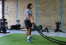 Exercise / Battling ropes