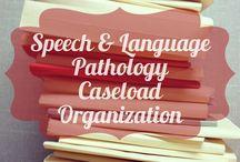 speechie organisation ideas