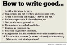 Writing-Funny / Finding the humor in writing and the English language.
