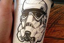 coffee cups / Coffee cups n draw