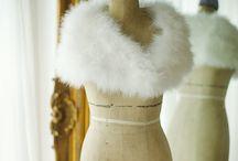 Bridal Shrugs, belts and sashes