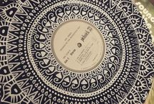 Vinyl mandala / This is how I clear my mind.