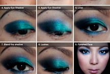Tutorials for Eye Shadows I have.