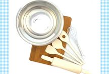 Zelf koken / Met deze producten kunnen kinderen zelf aan het koken en bakken!
