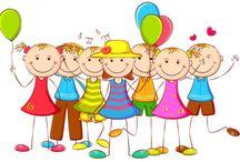Děti - barevné obrázky
