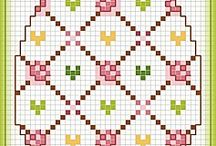 easter/spring egg cross stitch