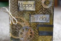 Card Making Projects / Inspirational cards that we love at Chook Scraps.