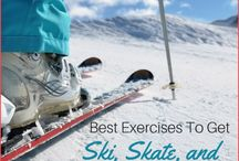 Ski Exercises for your legs and thighs