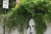 Street art / Art on street walls